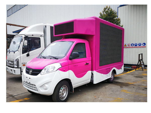 Foton High Brightness P10 DIP346 LED Mobile Advertising Trucks for Sale