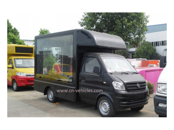 DFAC Mini Mobile Ad Roller Light Box Vehicle for Sales
