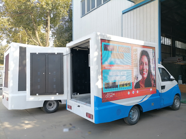 Karry Mini P6 Full Color Outdoor Led Billboard Moving Display Truck For Sale