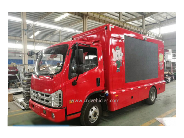 Foton Forland TV Screen Mobile Promotional Vehicle for Sales