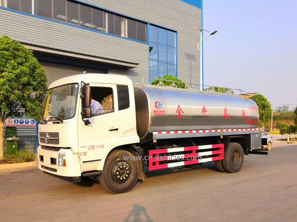 DFAC Dongfeng 12, 000 Liters Milk Transport Tanker Truck
