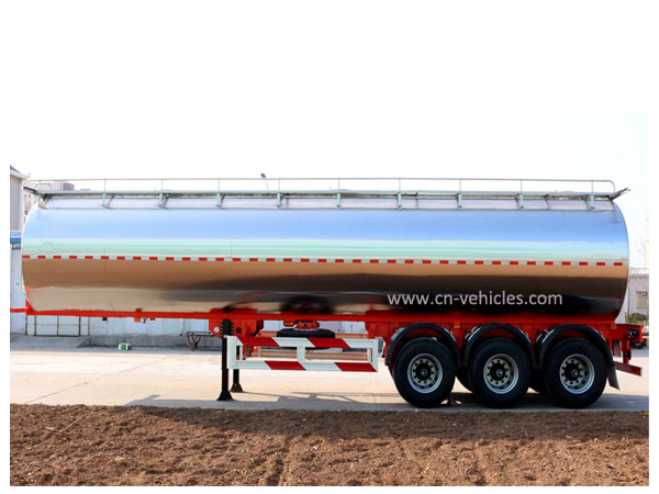 3 Axle 30cbm Mobile Milk Tanker Trailer