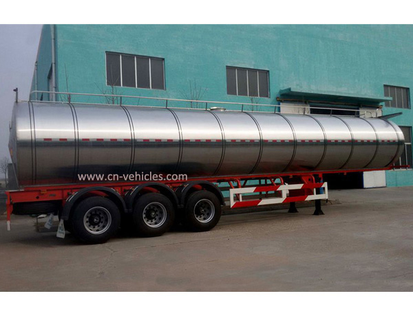 40000 Liters 3 Axle Milk Truck Tanker Trailer