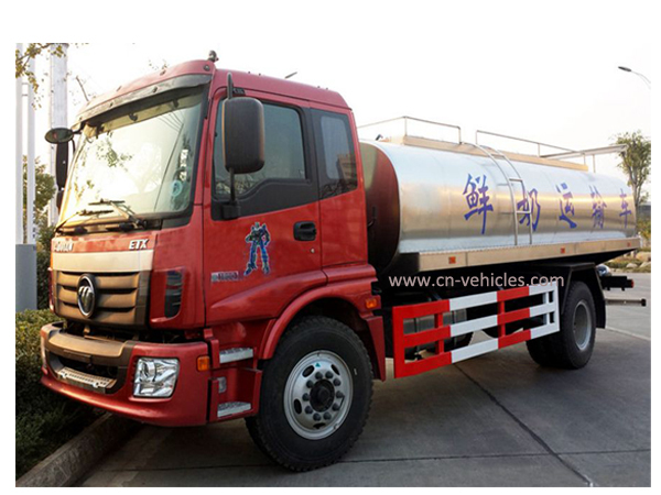 Forland 10000 Liters Stainless Steel Milk Tanker for Sales