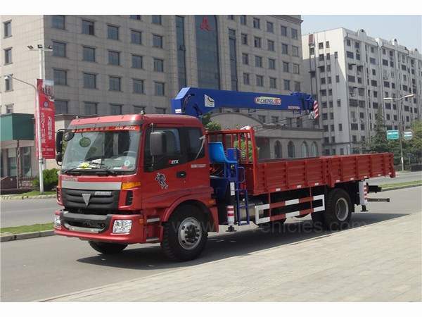 5 Ton Dongfeng Dump Truck With a Crane
