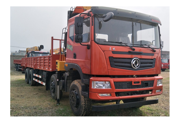 Dongfeng 30 ton Straight Crane Truck for Sale